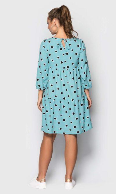БюрюзоБюрюзовое платье в горошеквое платье в горошек
