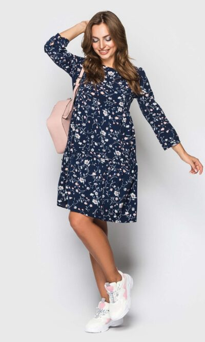 Платье мини в стиле бохо