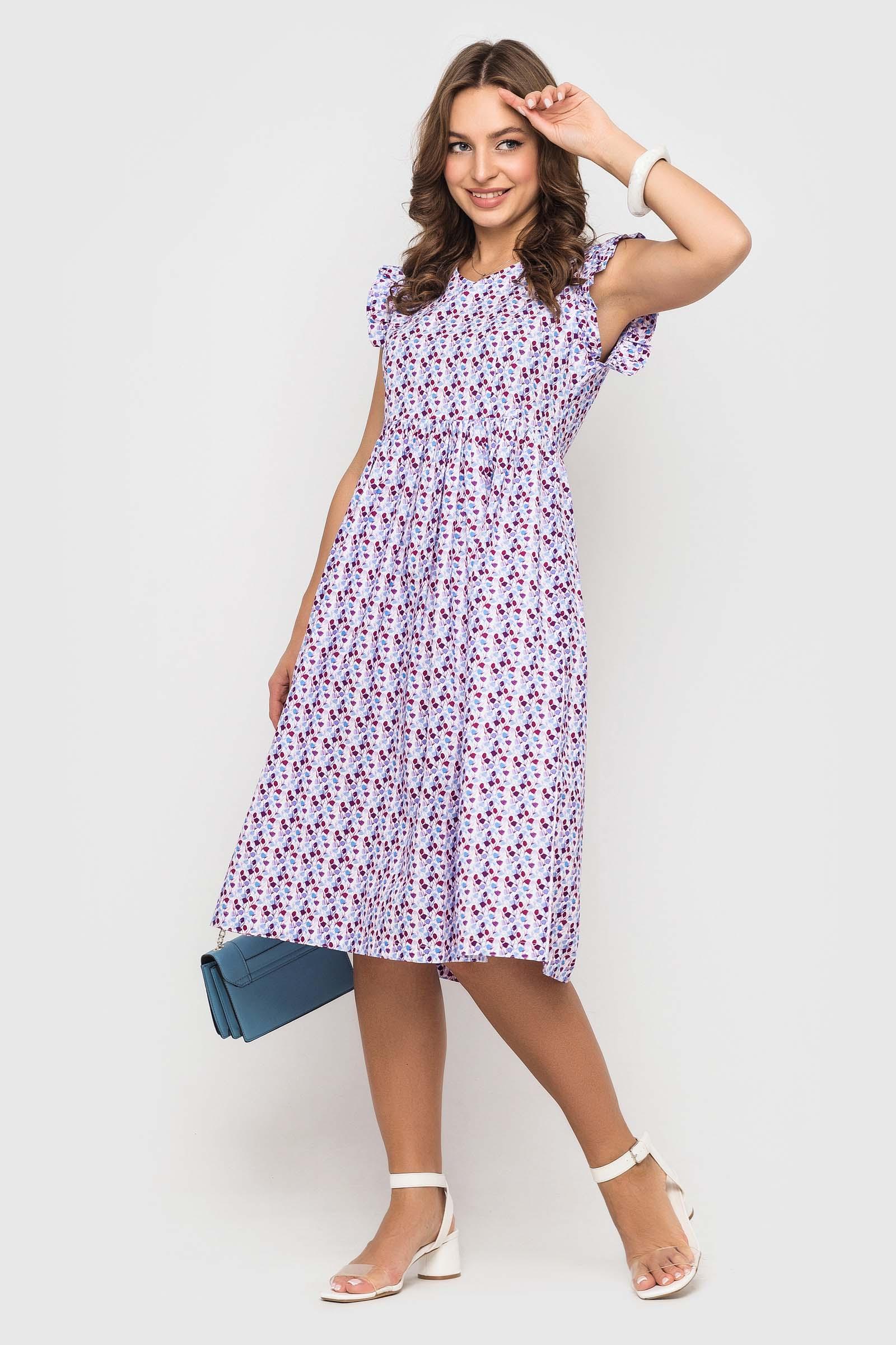 Нежное батистовое платье
