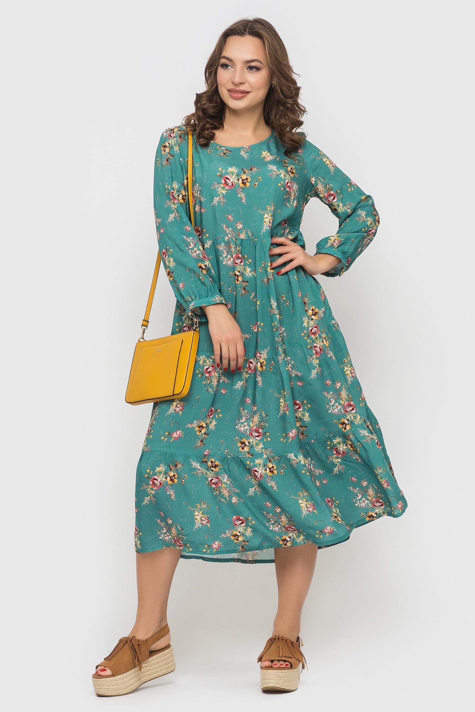 Легкое платье в стиле бохо