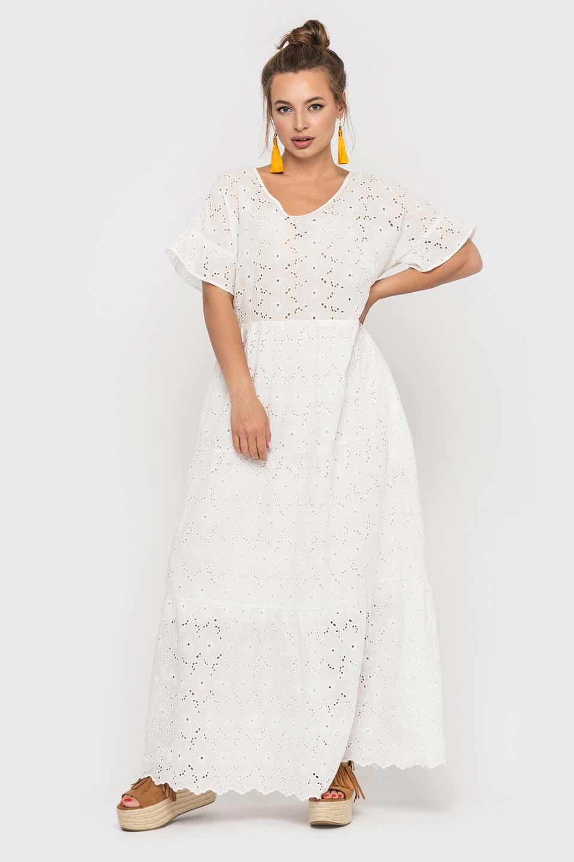 Платье в пол в стиле бохо
