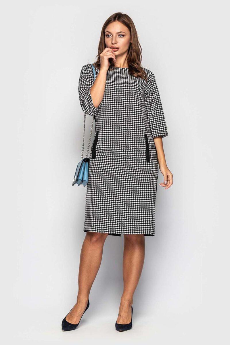 Классическое платье для офиса