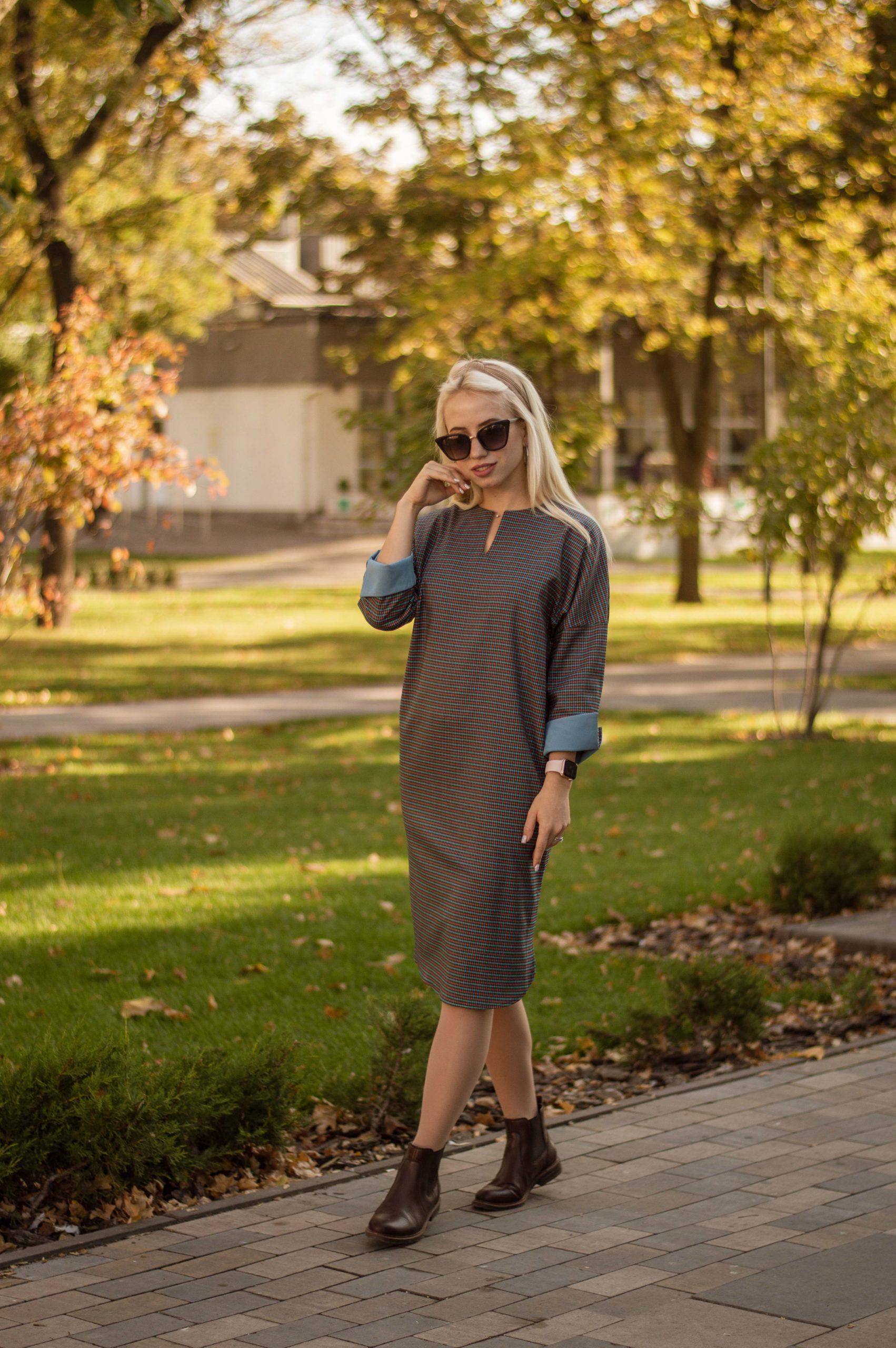 Комфортное платье для офиса