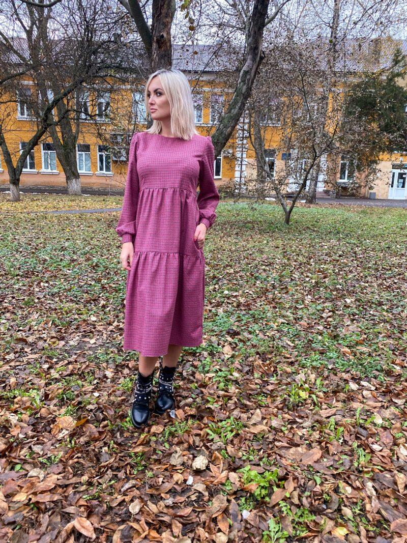 Яркое платье в стиле бохо
