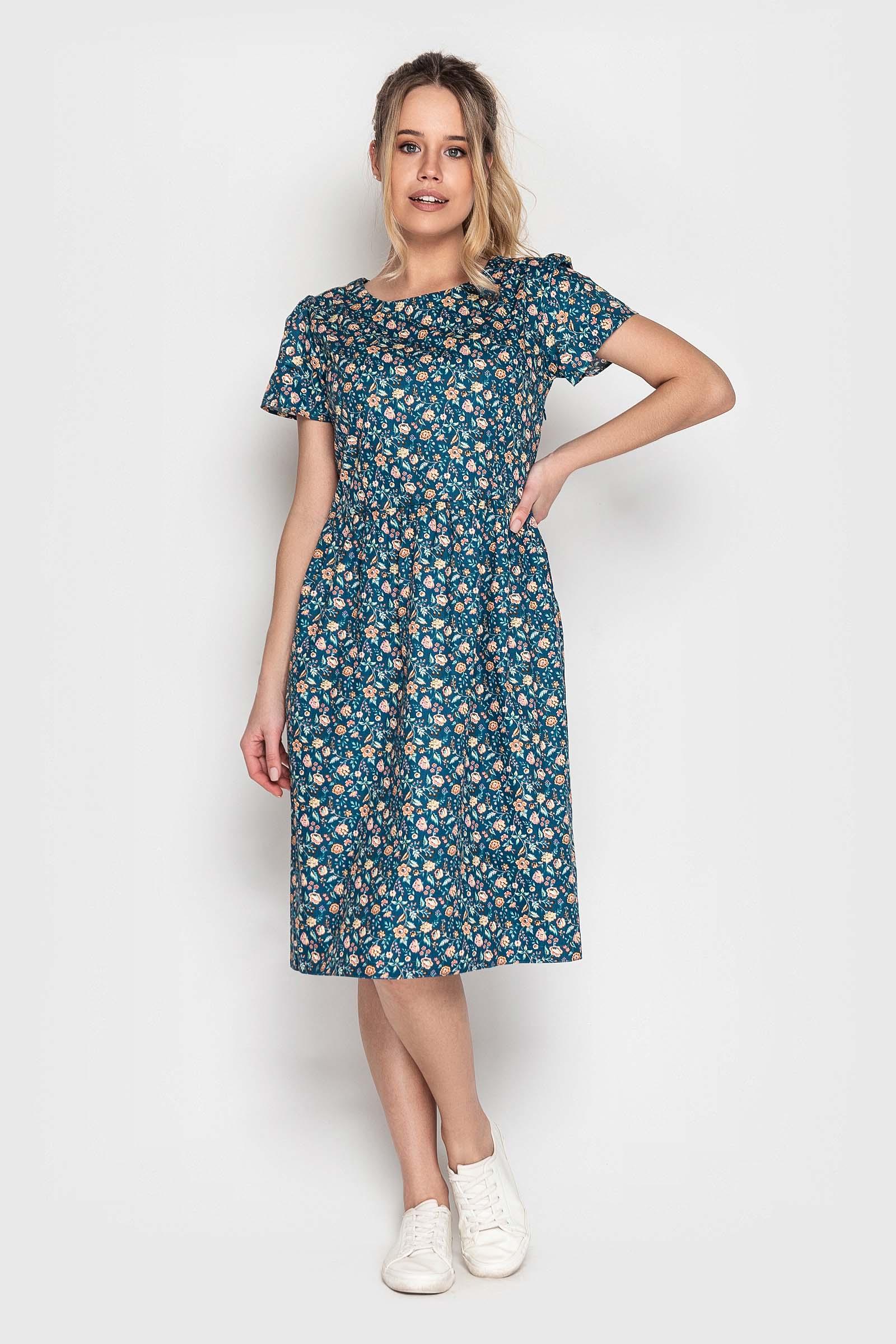 Платье на каждый день из натуральной ткани